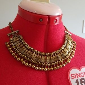 Jewelry - Necklace Choker - Egyptian - gold